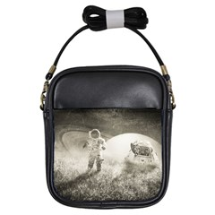 Astronaut Space Travel Space Girls Sling Bags