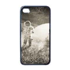 Astronaut Space Travel Space Apple Iphone 4 Case (black)