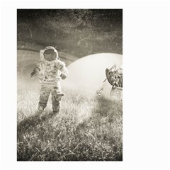 Astronaut Space Travel Space Small Garden Flag (Two Sides)
