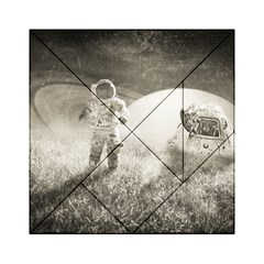 Astronaut Space Travel Space Acrylic Tangram Puzzle (6  x 6 )