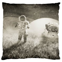 Astronaut Space Travel Space Large Cushion Case (Two Sides)