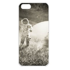 Astronaut Space Travel Space Apple iPhone 5 Seamless Case (White)