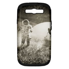Astronaut Space Travel Space Samsung Galaxy S Iii Hardshell Case (pc+silicone)