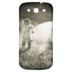 Astronaut Space Travel Space Samsung Galaxy S3 S III Classic Hardshell Back Case