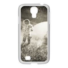 Astronaut Space Travel Space Samsung GALAXY S4 I9500/ I9505 Case (White)