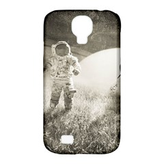 Astronaut Space Travel Space Samsung Galaxy S4 Classic Hardshell Case (pc+silicone)