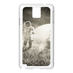 Astronaut Space Travel Space Samsung Galaxy Note 3 N9005 Case (White)