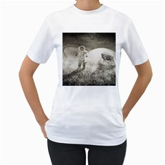 Astronaut Space Travel Space Women s T-Shirt (White)