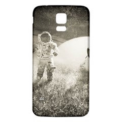 Astronaut Space Travel Space Samsung Galaxy S5 Back Case (White)