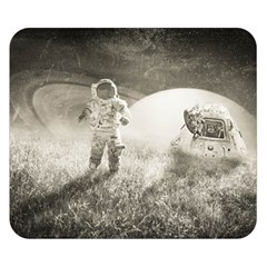 Astronaut Space Travel Space Double Sided Flano Blanket (Small)