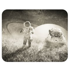 Astronaut Space Travel Space Double Sided Flano Blanket (Medium)