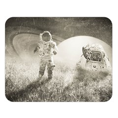Astronaut Space Travel Space Double Sided Flano Blanket (Large)