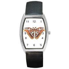 Butterfly Animal Insect Isolated Barrel Style Metal Watch