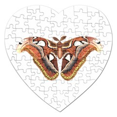 Butterfly Animal Insect Isolated Jigsaw Puzzle (heart)