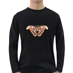 Butterfly Animal Insect Isolated Long Sleeve Dark T Shirts