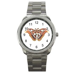 Butterfly Animal Insect Isolated Sport Metal Watch