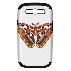 Butterfly Animal Insect Isolated Samsung Galaxy S Iii Hardshell Case (pc+silicone)