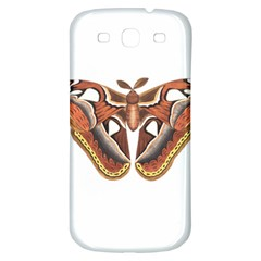 Butterfly Animal Insect Isolated Samsung Galaxy S3 S III Classic Hardshell Back Case