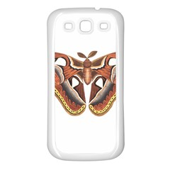 Butterfly Animal Insect Isolated Samsung Galaxy S3 Back Case (White)