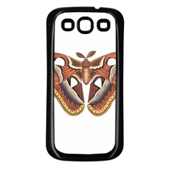 Butterfly Animal Insect Isolated Samsung Galaxy S3 Back Case (Black)