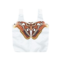 Butterfly Animal Insect Isolated Full Print Recycle Bags (S)
