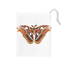 Butterfly Animal Insect Isolated Drawstring Pouches (Medium)