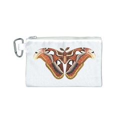 Butterfly Animal Insect Isolated Canvas Cosmetic Bag (S)