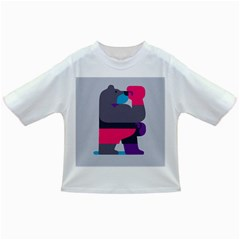 Strong Bear Animals Boxing Red Purple Grey Infant/Toddler T-Shirts