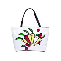 Tomatoes Carrots Shoulder Handbags