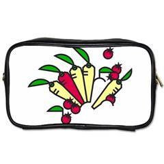 Tomatoes Carrots Toiletries Bags