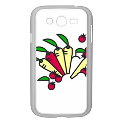 Tomatoes Carrots Samsung Galaxy Grand DUOS I9082 Case (White)