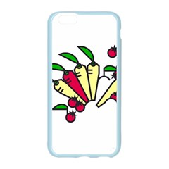 Tomatoes Carrots Apple Seamless iPhone 6/6S Case (Color)