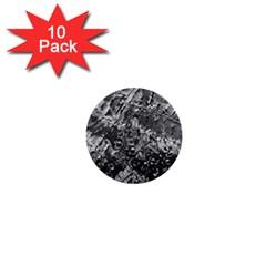 Fern Raindrops Spiderweb Cobweb 1  Mini Buttons (10 Pack)