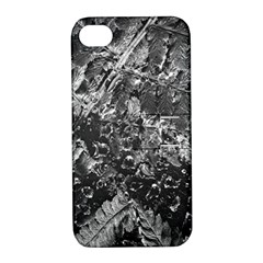 Fern Raindrops Spiderweb Cobweb Apple iPhone 4/4S Hardshell Case with Stand