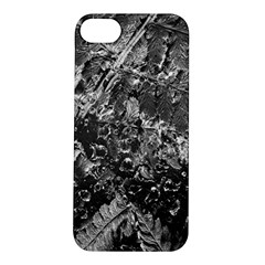 Fern Raindrops Spiderweb Cobweb Apple iPhone 5S/ SE Hardshell Case