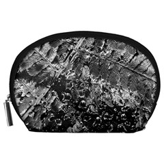 Fern Raindrops Spiderweb Cobweb Accessory Pouches (large)