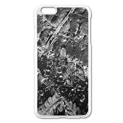 Fern Raindrops Spiderweb Cobweb Apple iPhone 6 Plus/6S Plus Enamel White Case