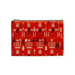 Traditional Wayang Cosmetic Bag (Medium)