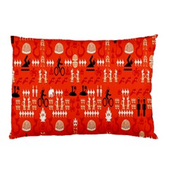 Traditional Wayang Pillow Case (Two Sides)
