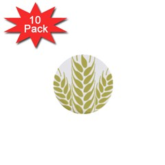 Tree Wheat 1  Mini Buttons (10 pack)