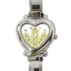 Tree Wheat Heart Italian Charm Watch