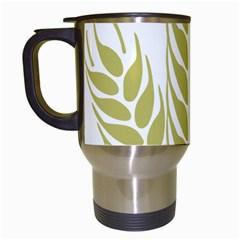 Tree Wheat Travel Mugs (White)