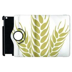Tree Wheat Apple iPad 3/4 Flip 360 Case