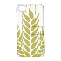 Tree Wheat Apple iPhone 4/4S Hardshell Case with Stand