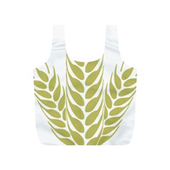 Tree Wheat Full Print Recycle Bags (S)