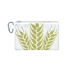 Tree Wheat Canvas Cosmetic Bag (S)