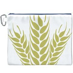 Tree Wheat Canvas Cosmetic Bag (XXXL)