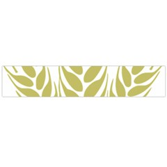 Tree Wheat Flano Scarf (Large)