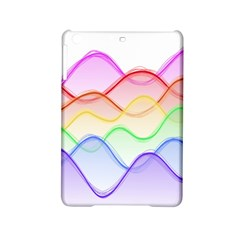 Twizzling Brain Waves Neon Wave Rainbow Color Pink Red Yellow Green Purple Blue iPad Mini 2 Hardshell Cases