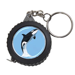 Whale Animals Sea Beach Blue Jump Illustrations Measuring Tapes